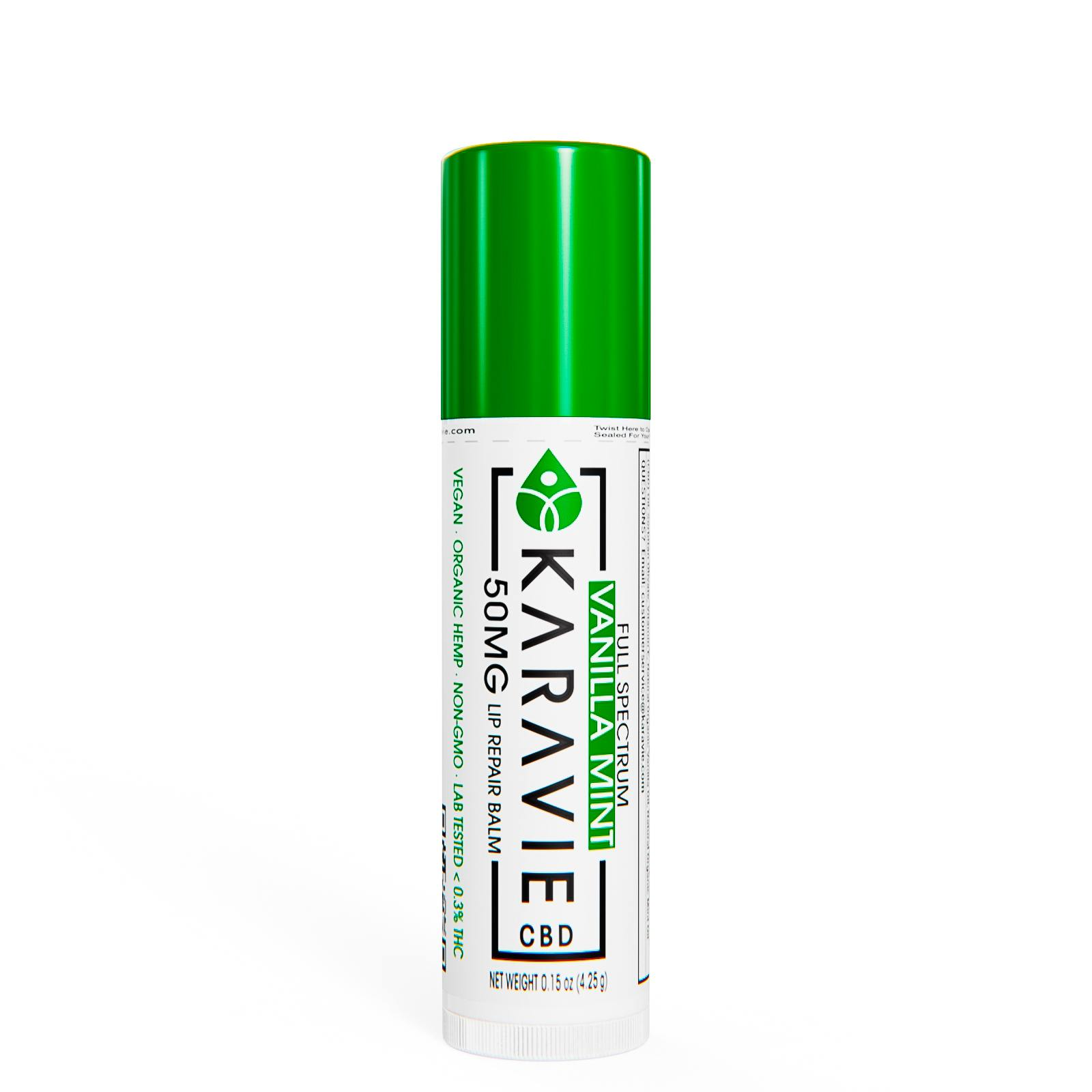 Karavie Lip Balm Full Spectrum Vanilla Mint